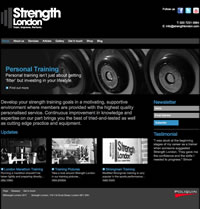 strengthlondon.co.uk homepage
